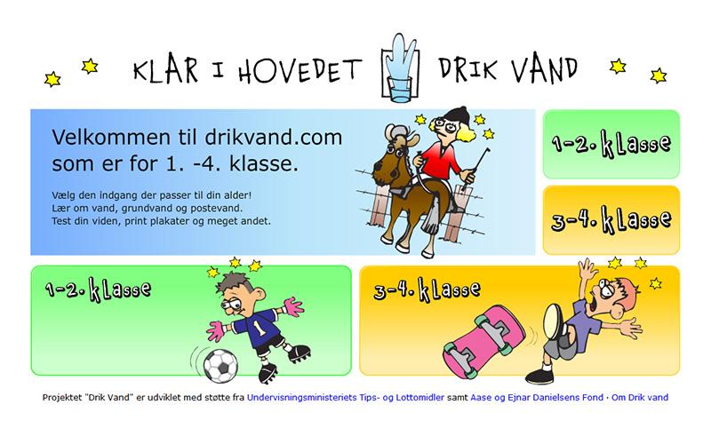 Drik Vand: Projekt om at drikke vand.