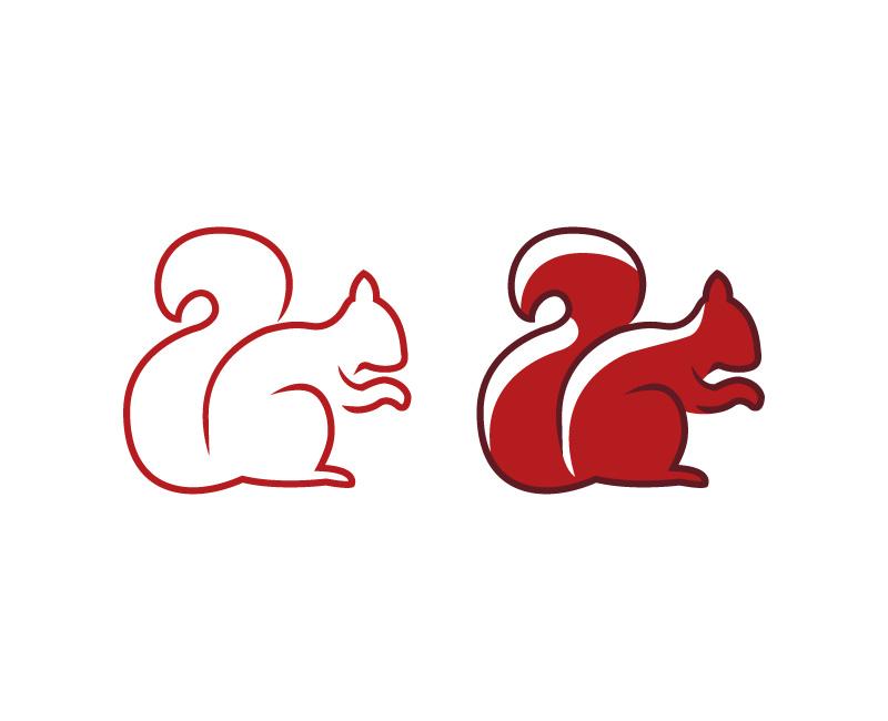 To egern piktogrammer.