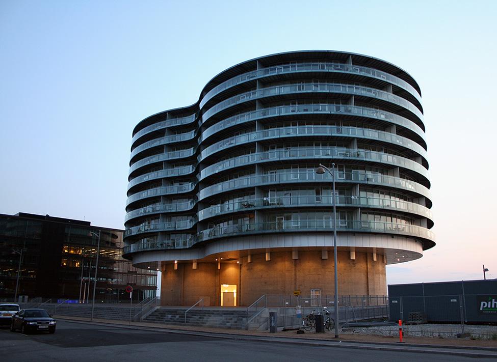Gemini bygningen på Islands Brygge.