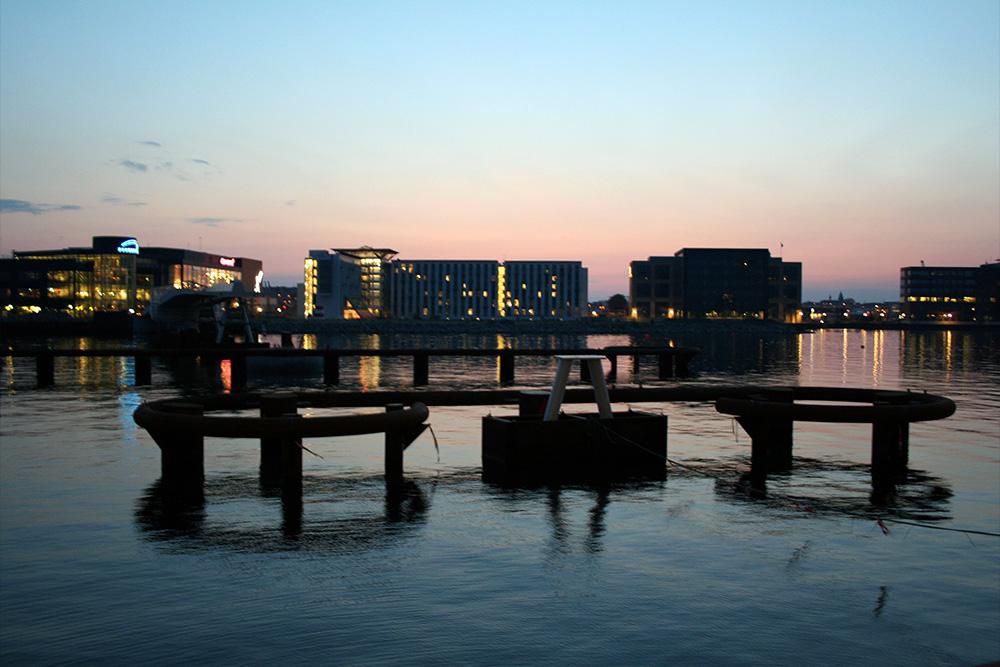 Havnen ved Islands Brygge.