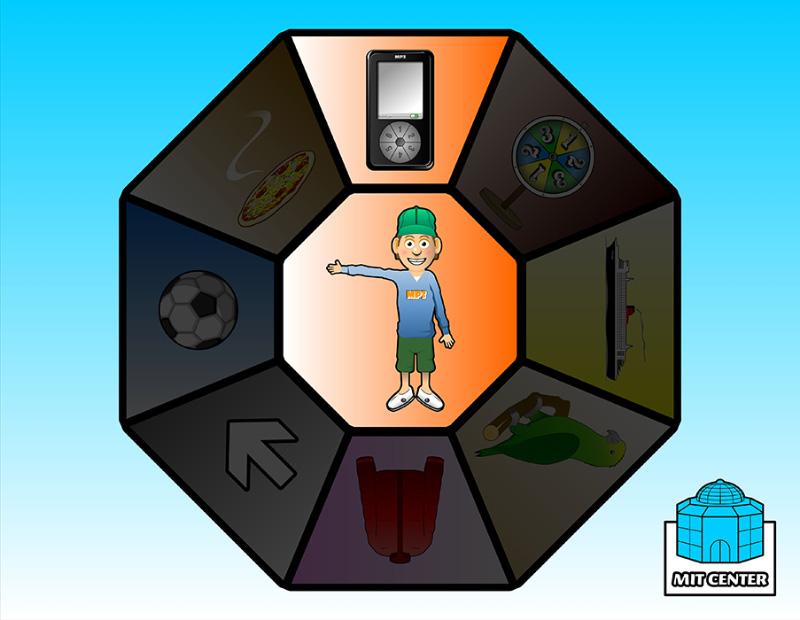 Mit Center -<br> hjemmeside til børn med særlige behov.